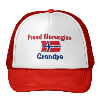 Proud Norwegian Grandpa Cap