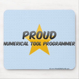 Proud Numerical Tool Programmer Mouse Pad