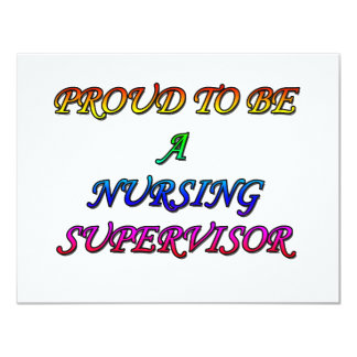 PROUD NURSING NURSING SUPERVISOR INVITATION
