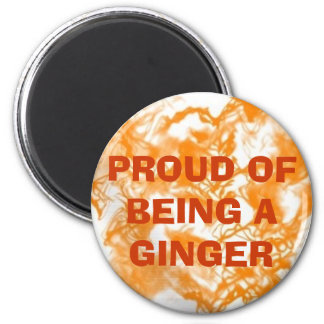 Proud of Being a Ginger Magnet