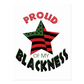 Proud of Blackness Postcard