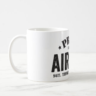 Proud of My Airman Classic White Coffee Mug
