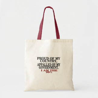Proud of my Country Budget Tote Bag