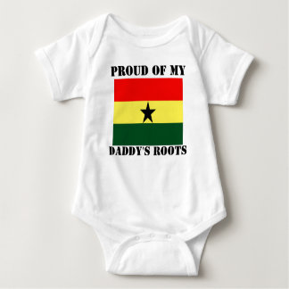 Proud of my daddy's roots baby bodysuit