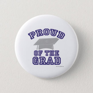 Proud of My Grad! 6 Cm Round Badge