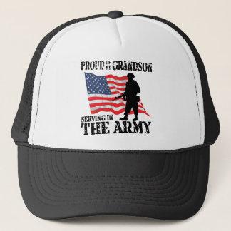 Proud of My Grandson Trucker Hat