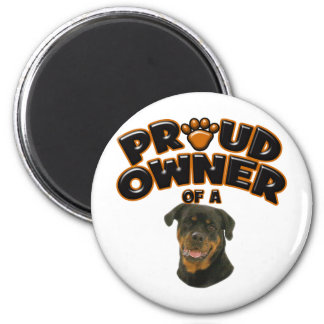 Proud Owner of a Rottweiler 3 Magnet