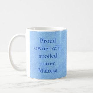 Proud Owner of a Spoiled Rotten Pet Mug-Boy Basic White Mug
