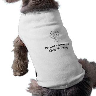 Proud owner ofGay Parents Pet wear Dog Clothing