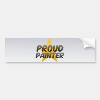 Proud Painter Bumper Sticker