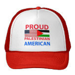 Proud Palestinian American Mesh Hats