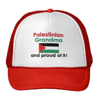 Proud Palestinian Grandma Trucker Hat