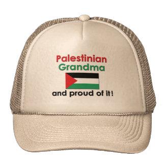 Proud Palestinian Grandma Trucker Hats
