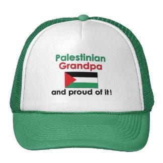 Proud Palestinian Grandpa Mesh Hats