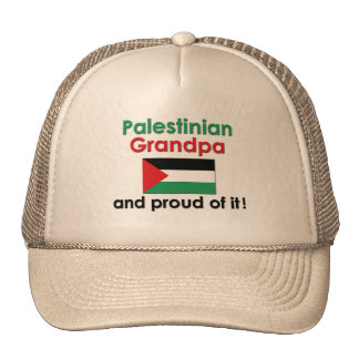 Proud Palestinian Grandpa Mesh Hat