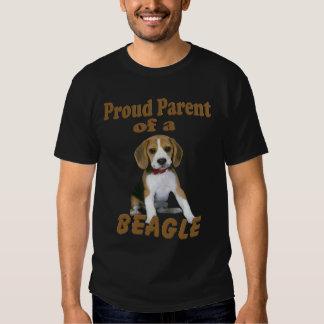 Proud Parent Of A Beagle T-shirts