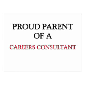 Proud Parent Of A CAREERS CONSULTANT Postcard