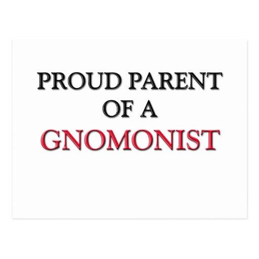 Proud Parent Of A GNOMONIST Postcard