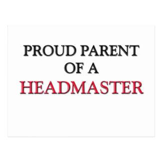 Proud Parent Of A HEADMASTER Postcard