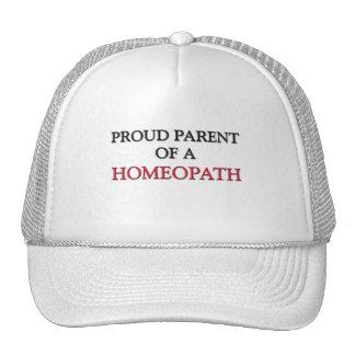 Proud Parent Of A HOMEOPATH Cap