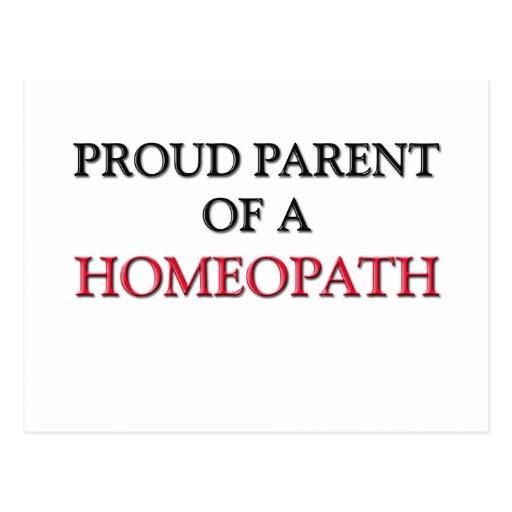 Proud Parent Of A HOMEOPATH Postcard