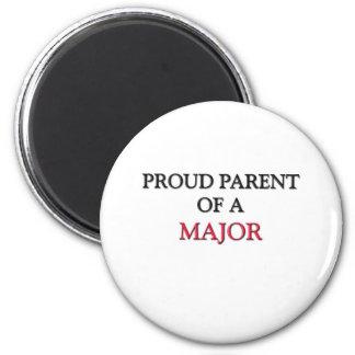 Proud Parent Of A MAJOR 6 Cm Round Magnet