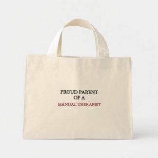 Proud Parent Of A MANUAL THERAPIST Canvas Bag