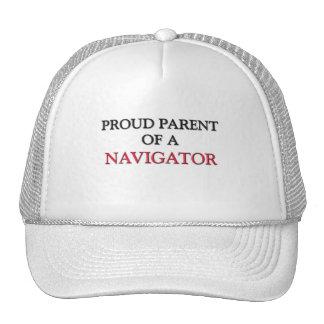 Proud Parent Of A NAVIGATOR Mesh Hats