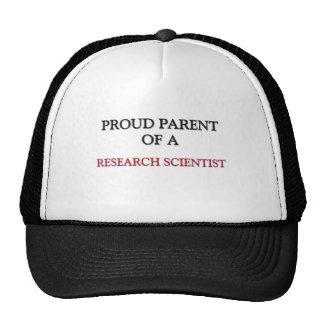Proud Parent Of A RESEARCH SCIENTIST Hats
