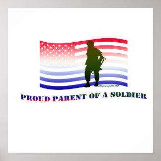 PROUD PARENT OF A SOLDIER PRINT