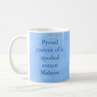 Proud Parent of a Spoiled Rotten Pet Mug-Boy Basic White Mug