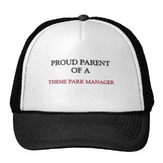 Proud Parent Of A THEME PARK MANAGER Hat