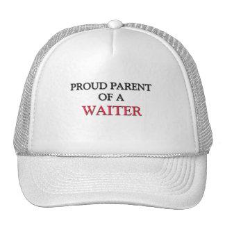 Proud Parent Of A WAITER Trucker Hats
