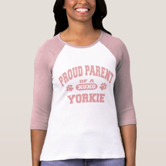 Proud Parent of a Yorkie Dog Lover T-Shirt