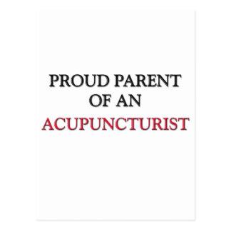 Proud Parent OF AN ACUPUNCTURIST Postcard