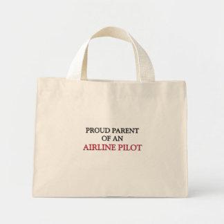 Proud Parent OF AN AIRLINE PILOT Mini Tote Bag