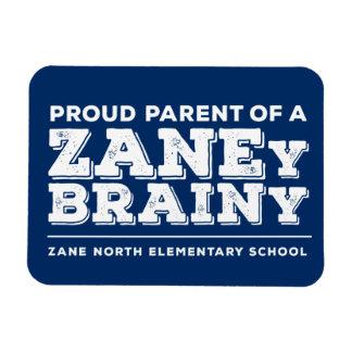 """Proud Parent Zaney Brainy 3""""x4"""" Flex Magnet"""