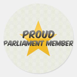 Proud Parliament Member Sticker