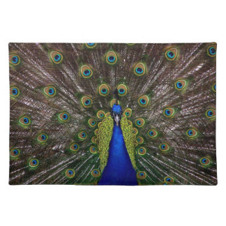 Proud Peacock placemats