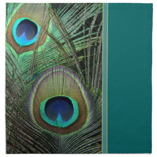 Proud Peacock & Teal Napkins