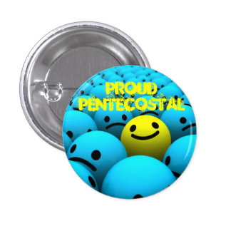 Proud Pentecostal 3 Cm Round Badge
