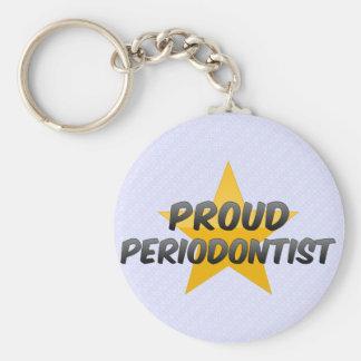 Proud Periodontist Keychain