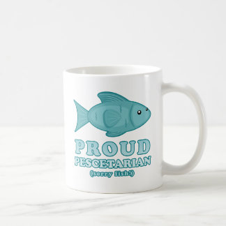 Proud Pescetarian Coffee Mug
