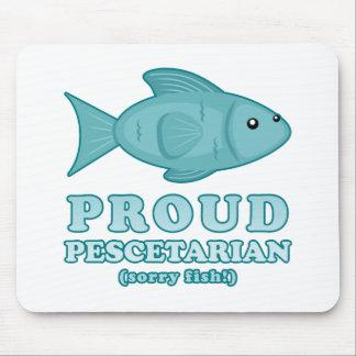 Proud Pescetarian Mousepad
