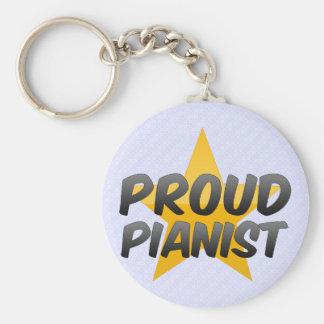 Proud Pianist Key Chains