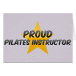 Proud Pilates Instructor Card