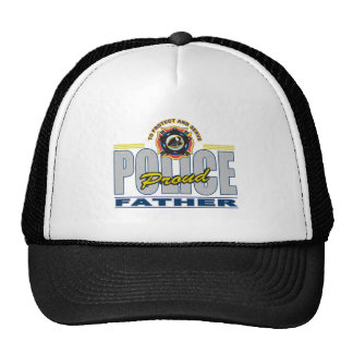 Proud Police Father Cap