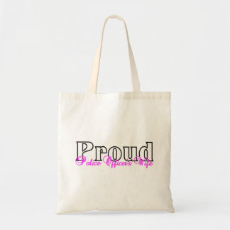 Proud Police Officer's Wife Tote Bag