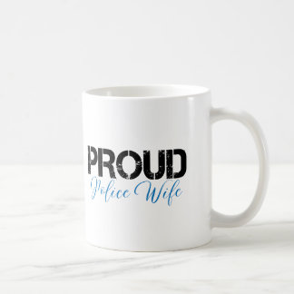 Proud Police Wife Coffee Mug