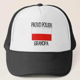 Proud Polish Grandpa Trucker Hat